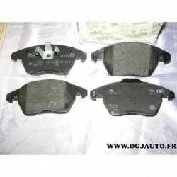Jeux 4 plaquettes de frein avant montage teves 8X0698151 pour audi A1 seat ibiza 4 volkswagen polo 5