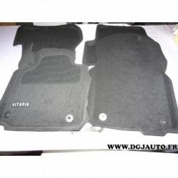 Jeux 4 tapis de sol 3D noir 1Z1061441HA 469 pour skoda octavia 2 II