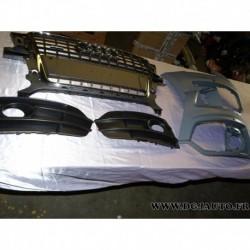 Kit facade avant calandre grille radiateur extension parechocs avant 8R0071229A 9AX pour audi Q5 de 2009 à 2012