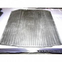 Tapis caoutchouc noir compartiment chargement coffre DCD720001 pour skoda fabia combi partir de 2007