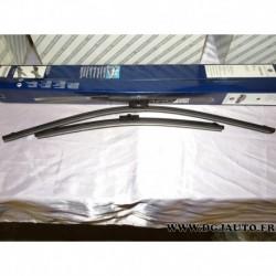 Jeux balais essuie glace aerovision souple 625mm + 425mm 71805140 pour fiat croma 2 partir de 2005