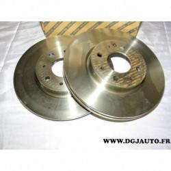 Paire disque de frein avant ventilé 257mm 46423415 pour fiat barchetta brava bravo doblo marea palio punto 1 2 siena strada temp
