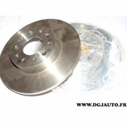Paire disque de frein arriere 251mm plein 51808471 pour fiat 500L partir de 2012