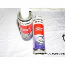 1 Flacon aerosol 500ml 5861113500 wurth pour nettoyant papillon admission air et gaz