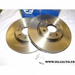 Paire de disque de frein avant 257mm ventilé 71770936 pour alfa romeo 145 146 155 fiat barchetta brava bravo doblo marea palio p
