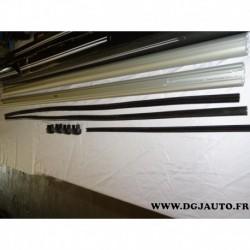Paire barre de toit aluminium avec bouchons (juste les barres) 150cm de long thule 863