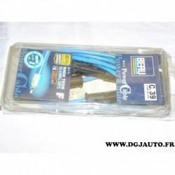 Jeu cable faisceau fils allumage de bougie 0900301088 pour renault megane 1 dont scenic 1.6