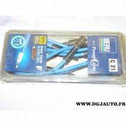 Jeu cable faisceau fils allumage de bougie 0900301078 pour fiat panda uno lancia Y10 0.75 0.8 1.0 1.1 750cc 800cc 1000 cc 1100cc