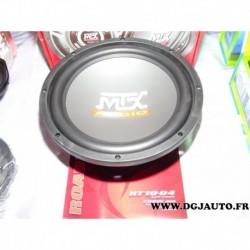 Subwoofer enceinte haut parleur 25cm 250W 4ohm road thunder RT10-04 MTX audio 750W max