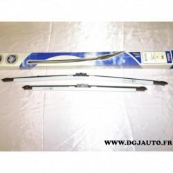 Paire balais essuie glace souple 650mm + 475mm norauto 90 pour ford focus c-max cmax partir de 2003