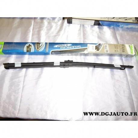 Paire balais essuie glace souple 650mm + 600mm silencio xtrm VM472 pour mercedes classe E W212