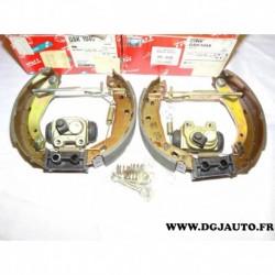 Kit frein arriere prémonté 180x40mm montage TRW GSK1045 pour renault 19 R19