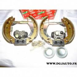 Kit frein arriere prémonté 180x40mm montage lucas GSK1242 pour peugeot 309