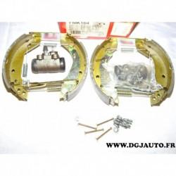 Kit frein arriere prémonté 180x42mm montage TRW FMK164 pour renault clio 1 I super 5