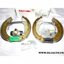 Kit frein arriere prémonté 203x38mm montage lucas cylindre 19.05mm carter 50 pour renault laguna 1