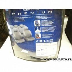 Kit complet housses protection sieges sur mesure norauto premium 3501367647046 pour renault scenic 2 II de 2003 à 2009 sauf gran