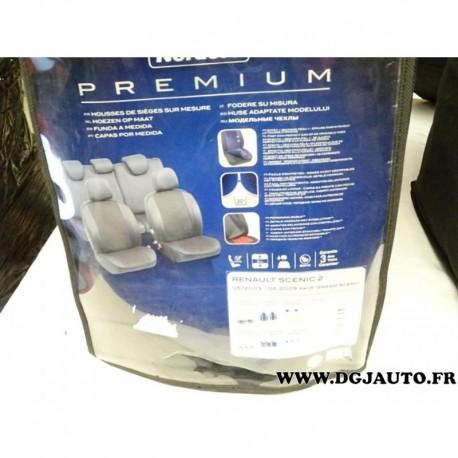 kit complet housses protection sieges sur mesure norauto premium 3501367647046 pour renault. Black Bedroom Furniture Sets. Home Design Ideas