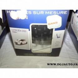 Kit complet housses protection sieges sur mesure norauto premium pour citroen DS3 à partir de 12/2009