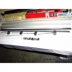 Paire barre de toit aluminium avec bouchons (juste les barres) 120cm de long thule 861*
