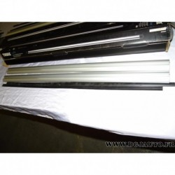 Paire barre de toit aluminium SANS bouchons (juste les barres) 108cm de long thule 860**