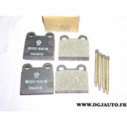 Jeux 4 plaquettes de frein montage teves avec coulisseaux 90005225* pour opel kadett B alfa romeo giulia GT GTA DAF 55 66 simca