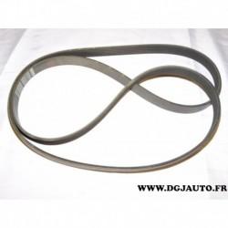 Courroie accessoire 6PK1725 pour opel astra F calibra omega A vectra A B peugeot 206 307 406 605 alfa romeo 159 audi A6 chevrole