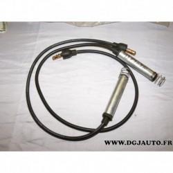 Lot 2 cables fils de bougie allumage 90275401 90275402 pour opel ascona C vectra A kadett E omega A 1.8 2.0 essence