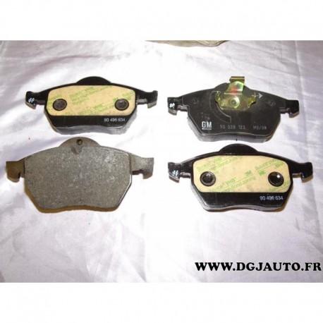 Jeux 4 plaquettes de frein avant montage teves 90512037 pour opel calibra vectra B saab 95 9-5 900