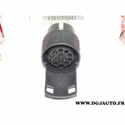 Adaptateur prise faisceau attelage attache remorque de 7 poles à 13 poles PZ4010056007 pour toyota lexus renault peugeot citroen