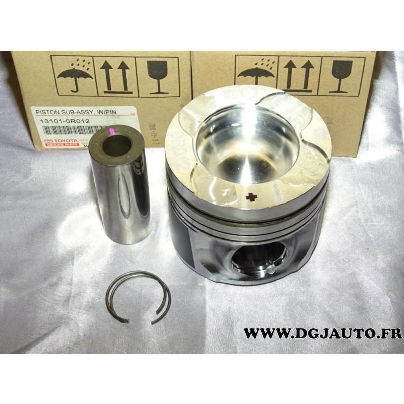 Lot de 4 pistons moteur 131010R012 pour toyota corolla verso 2 2D4D 2 2  D-4D de 2005 à 2009 2AD-FTV - DGJAUTO