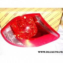 Feu lanterne arriere droit 8155142091 pour toyota RAV 4 RAV4 de 2005 à 2012