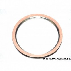 Bague joint metallique tuyau echappement 97381456 pour opel astra F 1.4 1.6 essence
