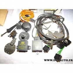 Kit faisceau electrique attelage remorque attache caravanne 7 poles multiplexé 735731* pour opel zafira B partir de 2005 (TRACE