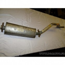 Silencieux echappement central intermediaire 90284926 pour opel ascona C 1.6D 1.6 D diesel