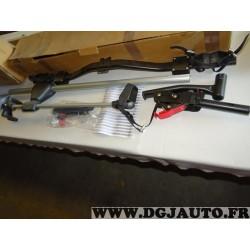 Kit 1 porte velo sur barre de toit version à soulevement OPEL 90513399 pour tous modèles