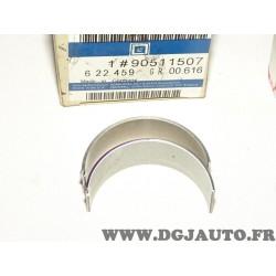 Lot 4 paires demi coussinets de bielle palier 90511507 pour opel vectra A kadett E astra F G 1.7D 1.7TD 1.7 D TD