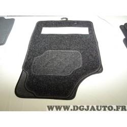 Ensemble tapis de sol avant + arriere adaptable FC001234 pour toyota lexus