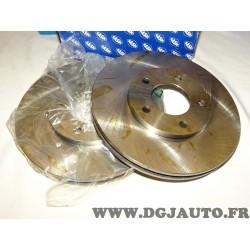 Paire disques de frein avant 282mm diametre ventilé 9004392J pour chrysler voyager grand voyager 1 2 de 1987 à 1995