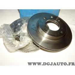 Paire disques de frein avant 239mm diametre ventilé 9004360J pour ford fiesta 2 II 1.6 XR2 de 1984 à 1989