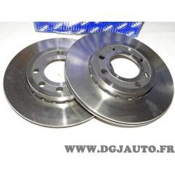 Paire disques de frein avant 239mm diametre ventilé 9004901J pour audi A2 volkswagen lupo