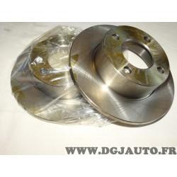 Paire disques de frein arriere 245mm plein 9004393J pour audi 80 90 100 coupé cabriolet