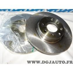Paire disques de frein avant 260mm plein 9004410J pour volvo 440 460 480