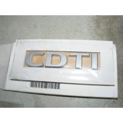 logo motif CDTI opel astra H zafira B vectra C